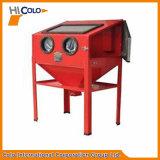 Máquina de sabotagem a seco manual vermelha