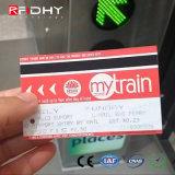 Tarjetas ultraligeras de papel del transporte público EV1 de los boletos MIFARE de RFID