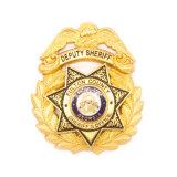 La polizia su ordinazione di alta qualità assegna la moneta di oro