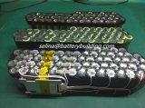 los hl de la batería de litio de 14s4p Hailong 52V 14ah Downtube montaron el paquete del tiburón del paquete 52V de la batería con la certificación Un38.3