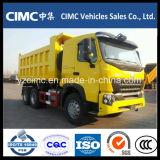 Sinotruk HOWO Euro2 6*4 420HP que inclina el carro de vaciado del volquete del camión de descargador