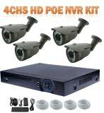 Sistema esperto da câmera do IP da segurança Home dos melhores jogos do ponto de entrada NVR do sistema 4CH 2.0MP HD da segurança DVR