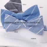 Planície de algodão tingidos de Gravata Borboleta Jys009-B