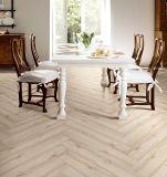 Mattonelle di ceramica lustrate sembrare del legno delle mattonelle di pavimento della porcellana di alta qualità del materiale da costruzione
