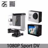 WiFiの完全なHD 1080P 30fpsのスポーツDVの処置のカメラおよび防水2インチLCDスクリーン30m