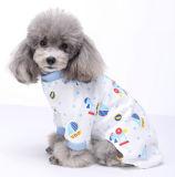 Salopette molle de pyjamas/vêtements de crabot de dessin animé de coton de 100%