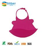De waterdichte Slabben van het Silicone veegt gemakkelijk Schone Comfortabel voor Baby/Zuigeling af