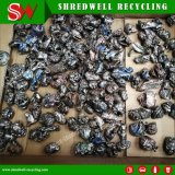 Botella de residuos de plástico/Película/Lamp/madera/hoja/vidrio/Trituradora de metal