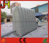Cinza que anuncia o quadro de avisos inflável para a venda