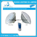 Indicatore luminoso subacqueo della piscina di vetro AC12V RGB/White PAR56