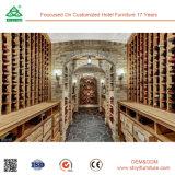 Rek van de Wijn van de Prijs van de fabriek het Houten, de Houten Kelder van de Wijn,