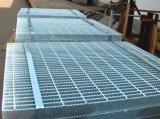 Reja galvanizada de la INMERSIÓN caliente para el suelo y la plataforma de acero del dren