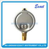 Bourdon管のPressurre正確に測オイルによって満たされるよりManometre低いFillableの圧力計