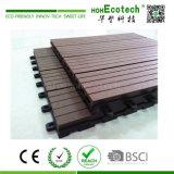 WPC DIYのDeckingのタイルの屋根またはバルコニーの/Washing部屋DIY WPCの床タイル