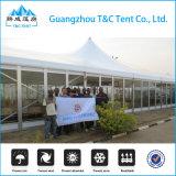 het Dak Qube van 40X100m kweekt de Zaal van de Tent van het Aluminium van de Spanwijdte voor Handel toont