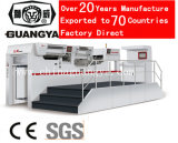 Estampado de lámina automática de alta velocidad y la máquina de troquelado (LC106MT, 1060*770mm, 5 grupos de alimentación de la lámina)