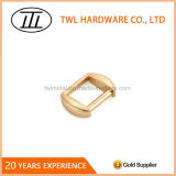 Light Gold Zinc Alloy Strap Adjuster Buckle