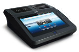 Supermaket POS Electronic Cash Register avec capteur d'empreinte digitale