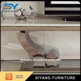 Шкаф TV верхней части MDF самомоднейшей живущий мебели комнаты мраморный