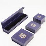 Vermarktungsfähiger Pappkunstdruckpapier-überzogenes Papier-Juwel-Kasten (J40-E2)
