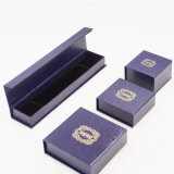 Caja de joyas de papel recubierto de papel de cartón comercializable (J40-E2)