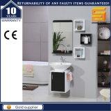 Neue Form MDF-weiße Badezimmer-Eitelkeits-Möbel für Hotel