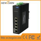 Interruptor industrial portuário da rede Ethernet de um Tx de 5 megabits