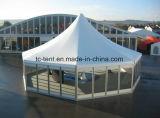 2016 nuevo diseño alto pico de la tienda de circo en Venta tienda de campaña de aluminio para carpas al aire libre