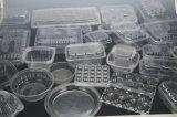 Contaiers plástico que faz a máquina com o empilhador para o picosegundo (HSC-510570C)