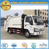 Compresse d'ordures de m3 d'Isuzu 4X2 5 et camion de transport camion d'ordures de 5 mètres cubes