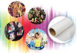 70/75/80 gramos de sublimación de secado rápido pequeño rollo de papel de transferencia de calor para personalizar las prendas de vestir