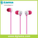 3.5mm Kleurrijke in-oorHoofdtelefoon voor MP3 MP4 de Mobiele Telefoon van de Speler