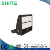 LED Shoebox 100W 가벼운 주차장 정착물 Philips는 200W-400W Mh/HPS를 대체한다