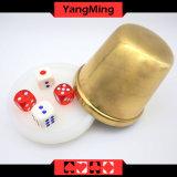 Acessórios acrílicos dedicados Ym-Di01 dos jogos de tabela do póquer do Si BO da placa da tecla do negociante do Baccarat de Macau
