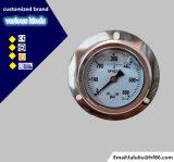 olio idraulico di 60mm - manometro riempito con la flangia