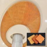 自己設計されていた内部の装飾的な材料木カラーアルミニウムパネル