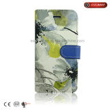 Estilo chinês Flip-up Leather Phone Case com Sublimation Printing