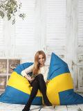 Preiswerte im Freienbohnen-Beutel für faules Leben-Bohnen-Beutel-Sofa-großen Bohnen-Beutel mit nur Vierecks-Deckel