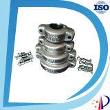 Couplage en caoutchouc de demi de connecteur de pipe de PVC de rouleau de chaîne des prix de cannelure d'entretoises