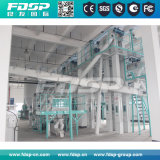 10t/H terminan la cadena de producción automática de la pelotilla del ganado/de la alimentación de pollo