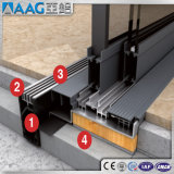 Aluminium-/Aluminiumtürführung-Strangpresßling-Profil