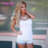 As mulheres Sexy Tanque Strappy perfeita Tops L598
