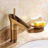 Flg Bathroom Antique Brass Banheira De vaso Misturador De Banho De Bacia De Lavatório