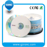 CD de una sola capa de 700 MB 52X grabable en blanco
