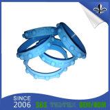 Braguilles à cordes Silicone Debossed Bandeaux 1/2 pouces pour cadeaux promotionnels