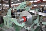нержавеющая сталь 0.2-6mm разрезая и перематывать процесс машины
