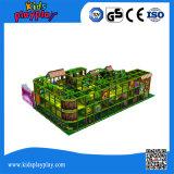 Hochwertige Jungel Art-Handelsinnenspielplatz für Kinder InnenPlaycenter Gerät