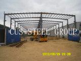 Prefabricated 경량 강철 창고 또는 전 설계된 강철 구조물 공장