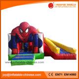 Jumping Boucer Spiderman Combo inflável com deslize (T3-311)