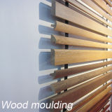 Material de construção Moldagem de madeira Placa de parede Rodapés de revestimento Acessórios